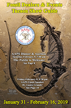 AAPS 2019 Fossil Dealers and Events at the Tucson Mineral and Fossil Shows