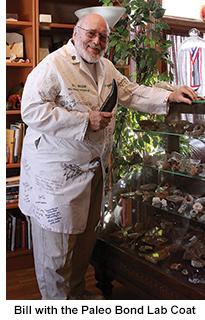 Bill Mason with his Paleo Bond Lab Coat