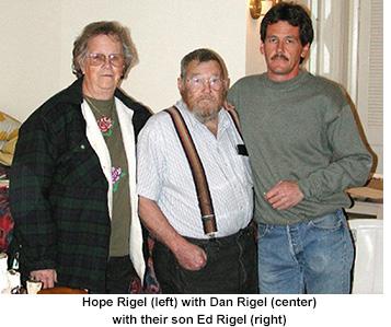 Dan Rigel (center)