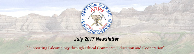 Newsletter of the Association of Applied Paleontological Sciences