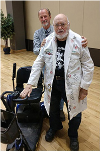Tom Lindgren, Bill Mason and the PaleoBond Lab Coat