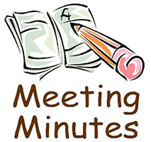AAPS Meeting Minutes